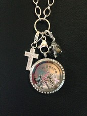 Stop by and build your own locket!