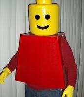 A creative Halloween costume
