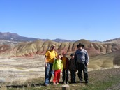 Painted Hills.