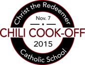Join us for the 2nd Annual Chili Cook-Off Nov. 7