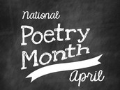National Poetry Month/Mother's Day