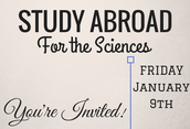 Study Abroad for the Sciences
