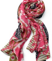 Union Square Scarf in Geo Ikat ($59)