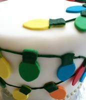 Holiday Light Cake!
