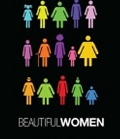 Beautiful women come in different shaped and sizes.