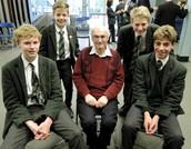 Holocaust Survivor Visits Year 9