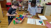 Counting using different colors