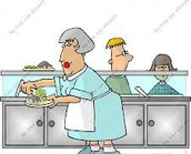 Cafeteria volunteers needed!