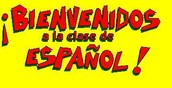 Welcome students to your Spanish class.