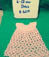 6-12 month Dress $20