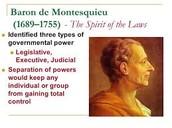 Enlightenment of Montesquieu