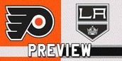 The Philadelphia Flyers will open their season on October 14th against the Los Angeles Kings