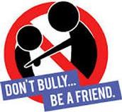 NO BULLING BE A FRIEND