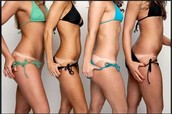 Half Body Custom Airbrush Tan