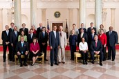 The Presidential Cabinet.