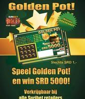De nieuwe kraskaart: Golden Pot