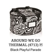 Around We Go Thermal in Black Playful Parade
