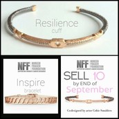 Resilience and Inspiration Bracelets