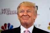 Donald smiling