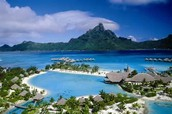 Why is Bora Bora the best spot to be Middle Earth?
