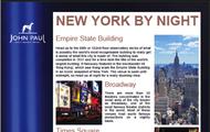 New York travel itinerary