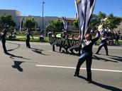 Club Blue at Veterans' Day Parade