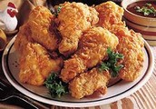 Our fried chicken is the crispy goodness you want in your tummy!