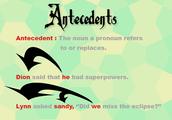 Antecedents