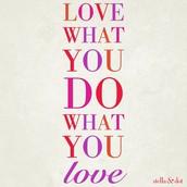 I love what I do so much, I'm happy to share it!
