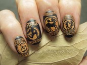 Nail art was used in ancient times..