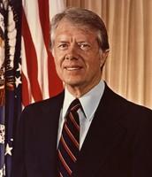 Jimmy Carter as president.