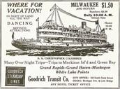 Milwaukee Steamboat Vacation