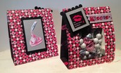 """KISS BREAST CANCER GOODBYE"" Treat Bag"