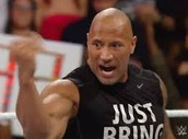 The Rock in his wrestling career