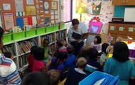 Mrs. O' Neill was our guest reader!