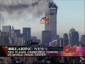 CNN Coverage of the events on 9/11