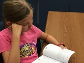 She met the Summer Reading Challenge!