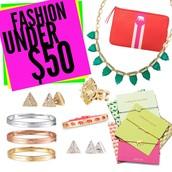 Dozens of gifts under $50!