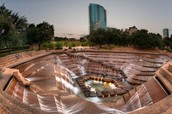 Fort worth water garden