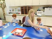 Kindergartners Learn Ways to Apply Math With Card Games!