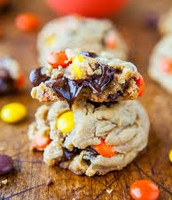Reese's Chocolate Chip Cookies