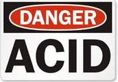 Sulfuric Acid Reacting With  Sponge
