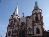 Iglesia principal de Moniquira