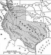 1845 Texas annexed-