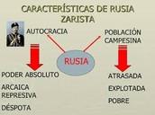 1. La Rusia Zarista.