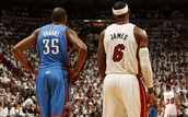 James vs Durant