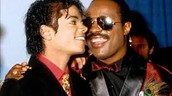 Michael Jackson and Stevie