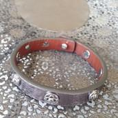 Clover Wrap Leather Bracelet | 22
