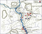 Map of the Battlefield of Brandywine Creek
