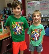 Matching Avengers Shirt